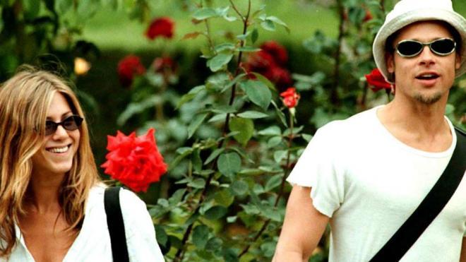 Jennifer Aniston và Brad Pitt 13