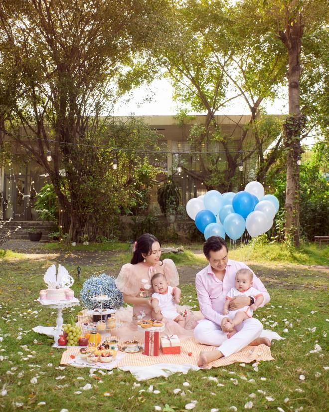 sinh nhật vợ Dương Khắc Linh  4