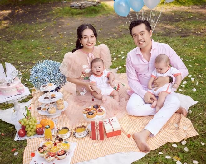 sinh nhật vợ Dương Khắc Linh  5