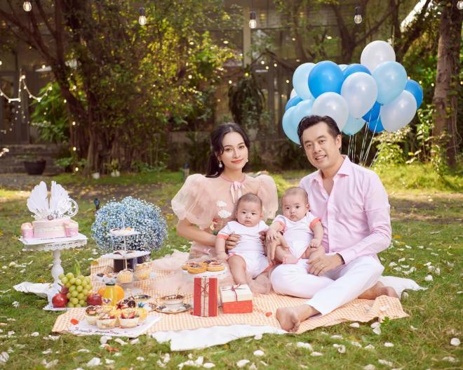sinh nhật vợ Dương Khắc Linh  6
