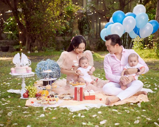 sinh nhật vợ Dương Khắc Linh  0