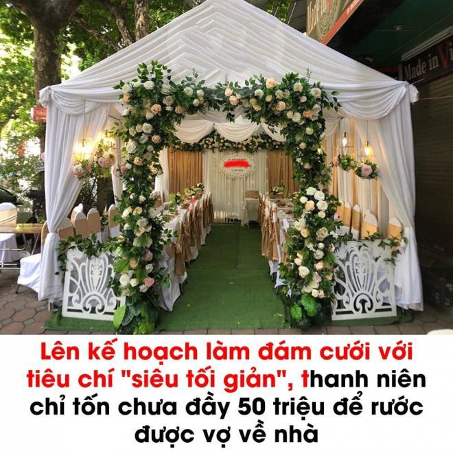 đám cưới tiết kiệm  1