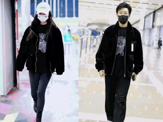 Angelababy mặc áo đôi với chồng đi chơi, người trong cuộc tiết lộ Huỳnh Hiểu Minh đang phải cố gắng hết mình để níu kéo bà xã 12