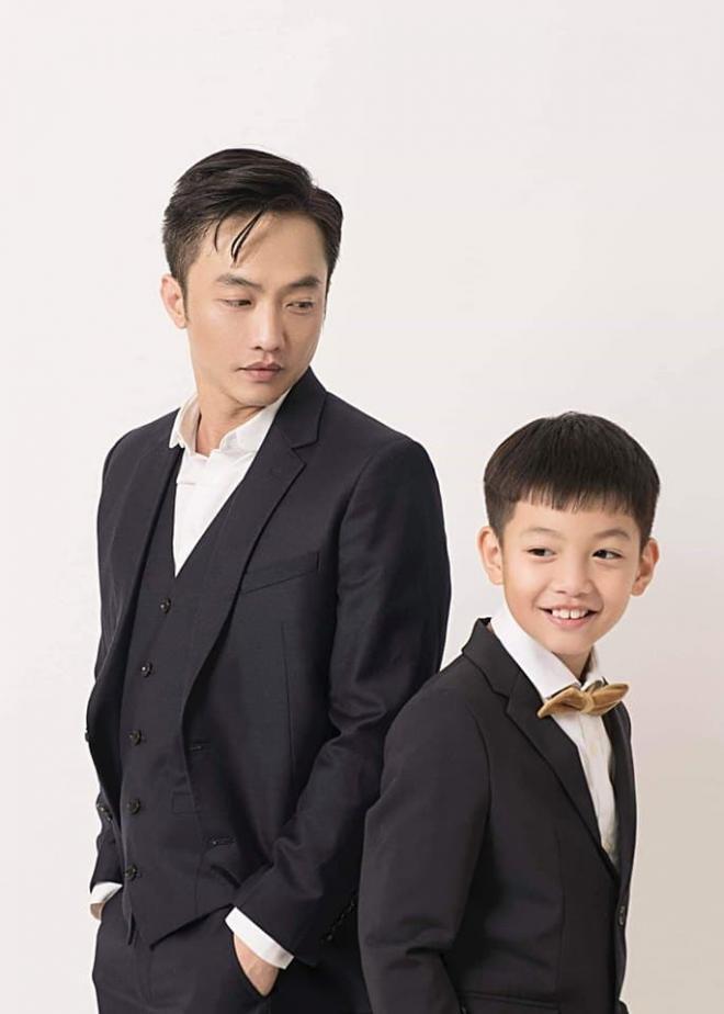 Khoảnh khắc Cường Đô La đón Subeo đi học về nhận bão like, con trai riêng cao gần bằng bố 2