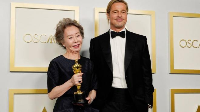Bị hỏi vô duyên về 'mùi của Brad Pitt' trên thảm đỏ Oscar, nữ diễn viên gạo cội Hàn Quốc có màn đáp lại cực 'gắt' khiến cư dân mạng hả hê 6