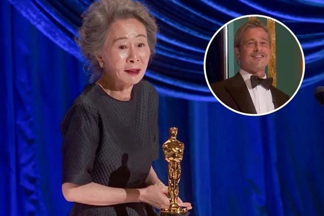 Bị hỏi vô duyên về 'mùi của Brad Pitt' trên thảm đỏ Oscar, nữ diễn viên gạo cội Hàn Quốc có màn đáp lại cực 'gắt' khiến cư dân mạng hả hê 4