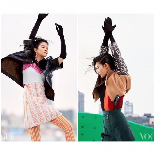 Lưu Diệc Phi và bộ ảnh tạp chí với biểu cảm 'đòi nợ thuê', cư dân mạng: 'Diện đồ LV mà phèn hơn đồ chợ' 6