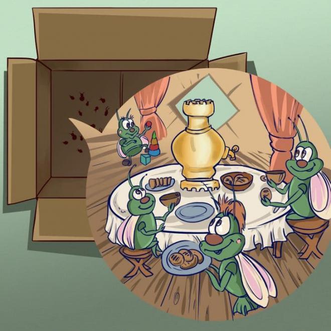 nhà là nơi trú ẩn của vi khuẩn  6