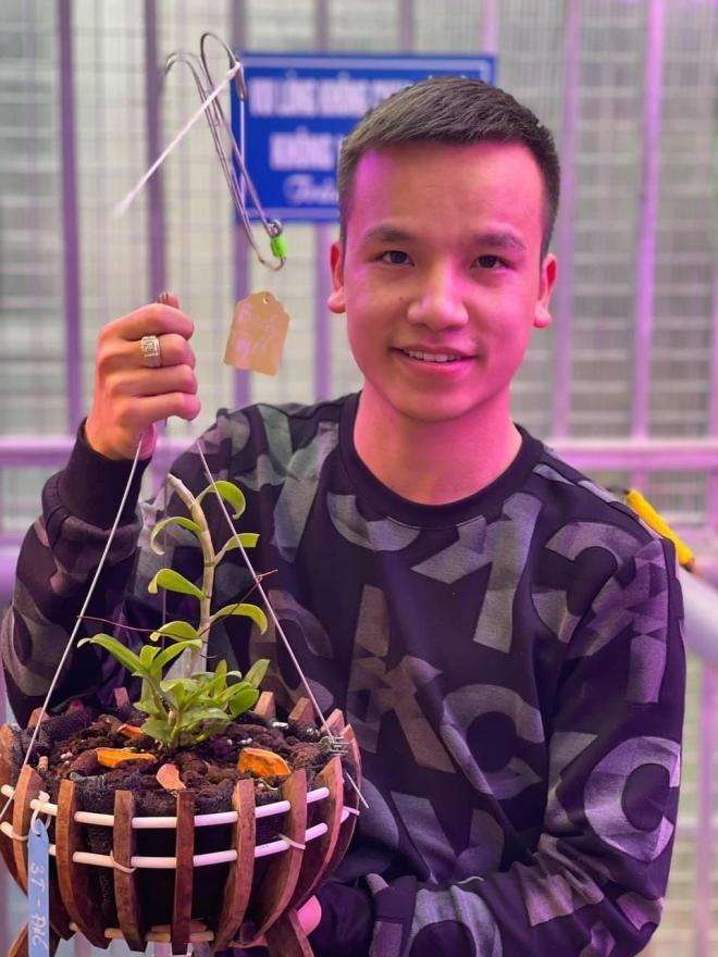 Nghệ nhân Vũ Đức, hoa lan rừng, trồng hoa lan