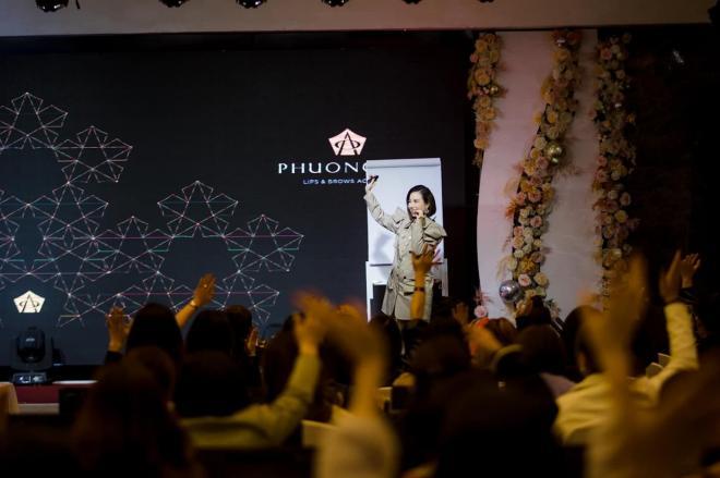 Phương Nhi, Phun xăm thẩm mỹ, Phương Nhi Lips & Brows Academy, Hải Yến spa