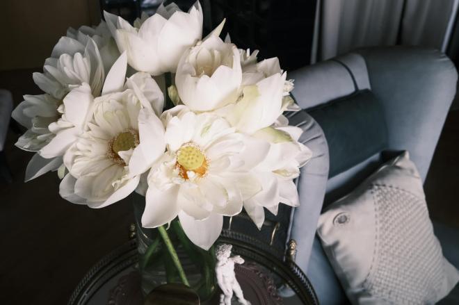 Lý Quí Khánh và hoa 12