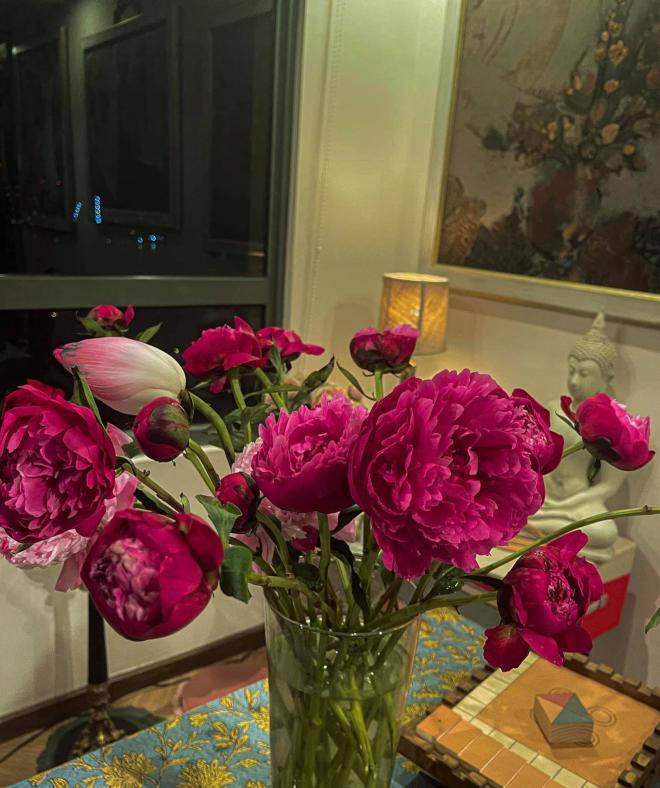 Lý Quí Khánh và hoa 13