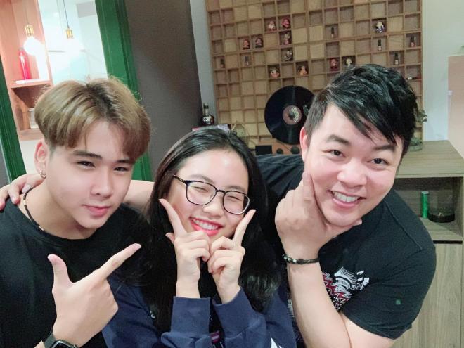 Quang Lê và con nuôi  2