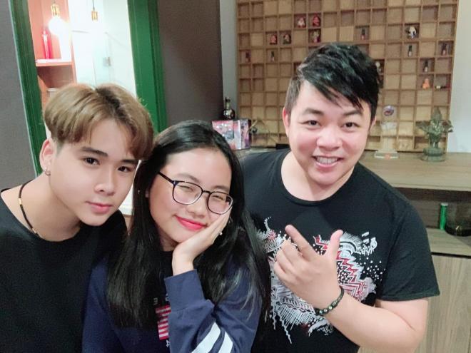Quang Lê và con nuôi  3