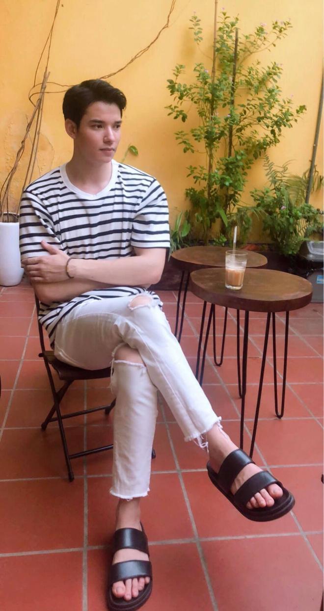 Em trai Thu Quỳnh tại Hương vị tình thân  2