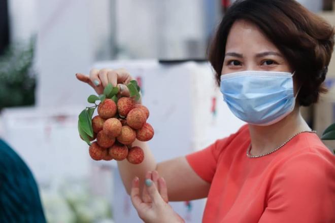 giải cứu vải thiều Bắc Giang, Nguyễn Thị Tuyết