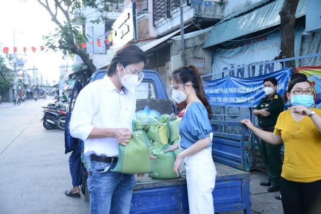 Đoàn Minh Tài, Sunny Đan Ngọc, sao việt, từ thiện