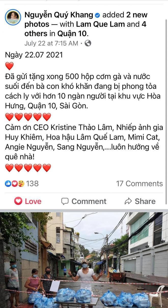 CEO Kristine Thảo Lâm, Từ thiện