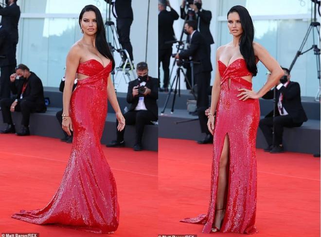 Thảm đỏ LHP Venice: Bạn gái Ronaldo diện áo trễ nải để khoe vòng cổ kim cương cỡ 'khủng', tình cũ Tom Cruise đẹp rực lửa ở tuổi U50 4