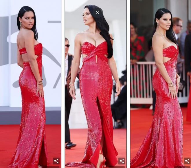 Thảm đỏ LHP Venice: Bạn gái Ronaldo diện áo trễ nải để khoe vòng cổ kim cương cỡ 'khủng', tình cũ Tom Cruise đẹp rực lửa ở tuổi U50 5