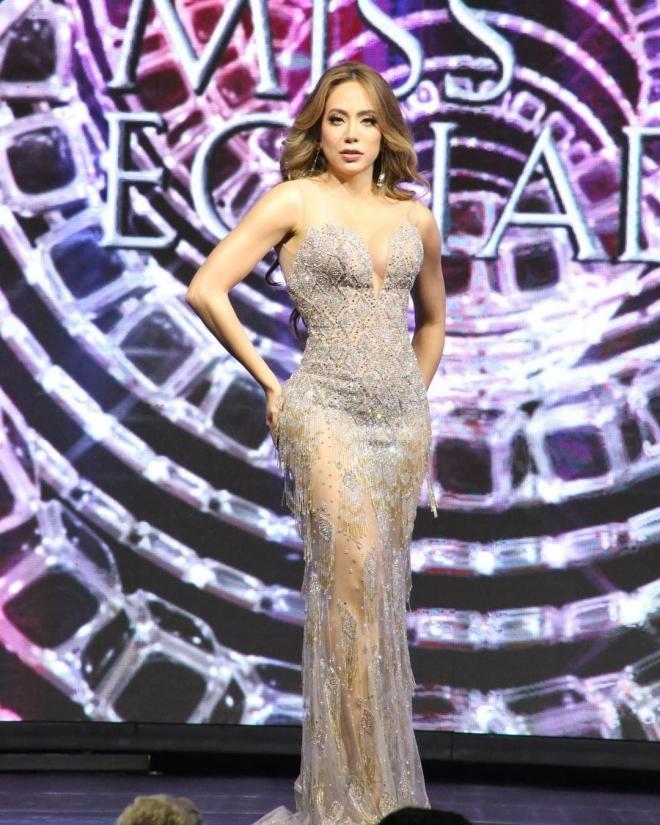 tân Hoa hậu Hoàn vũ Ecuador 2021 1