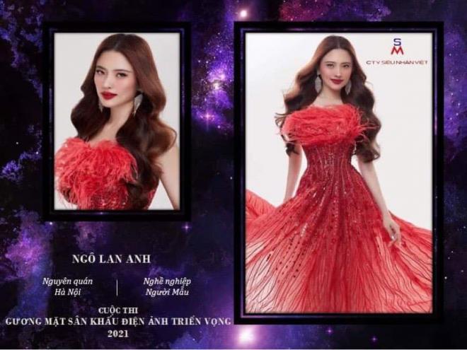 Hoa hậu điện ảnh 2021, Gương mặt sân khấu điện ảnh 2021, Ngô Lan Anh
