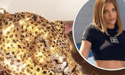 Không hổ danh tỷ phú, Kylie Jenner tặng hội chị gái clutch hình báo đốm trị giá hàng trăm triệu đồng