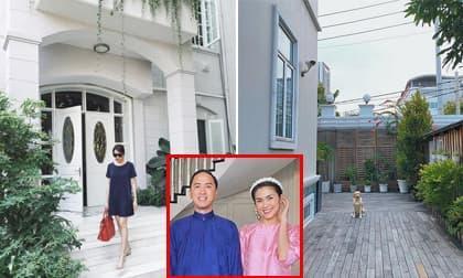 Hé lộ thêm một số góc trong căn hộ vợ chồng Tăng Thanh Hà đang sống
