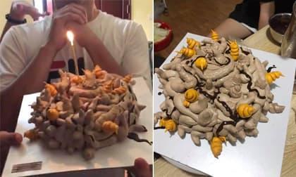 Cười sái quai hàm với những chiếc bánh sinh nhật của hội gái đoảng